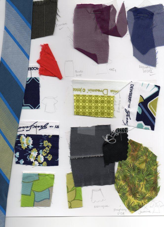 fall sewing mood board
